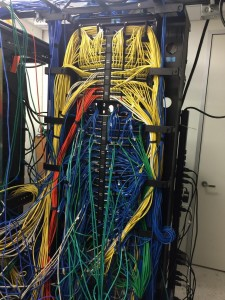 Fiberplus Cleans Data Center Rack For Iron Bow At Mortgage